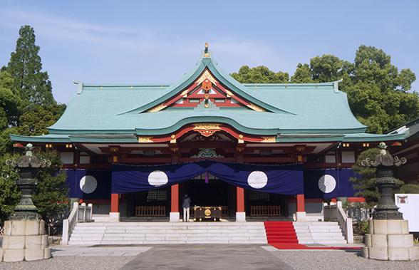 日枝神社は仕事運出世運に!