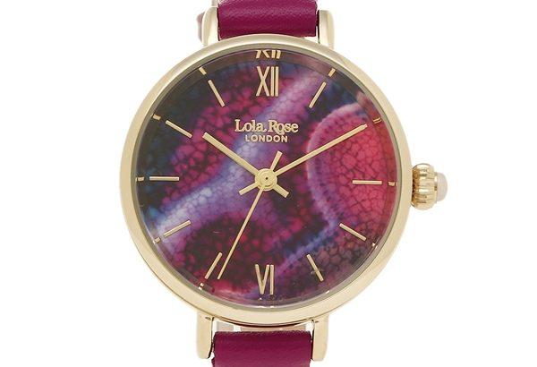 天然石を腕時計でオシャレに取り入れる!ローラローズの腕時計が種類豊富